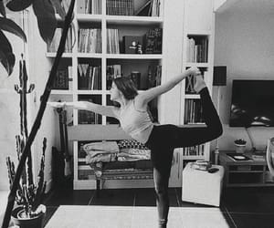 black and white, breathe, and dance image