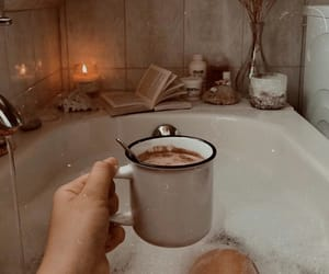 autumn, cozy, and cup image