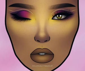 artistic, makeup inspo, and makeup lover image