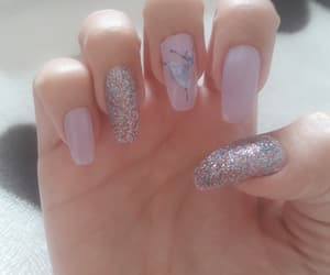ballerina, nails, and sparkle image