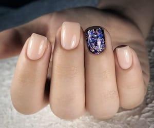 nails, beauty nails, and simple nails image