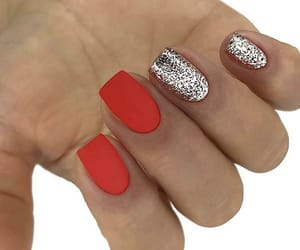 matte, nails, and matte nails image