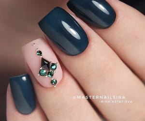 manicure, nails, and nice nails image