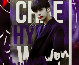 k-pop, chae hyungwon, and wallpaper image
