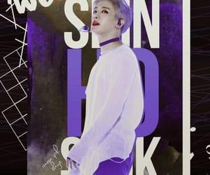k-pop, lee hoseok, and wallpaper image