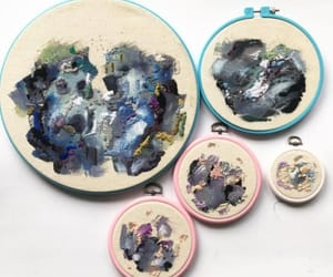 art, embroidery, and etsy image