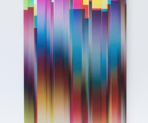 art, color, and glitch art image