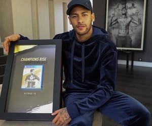 boy and neymar image