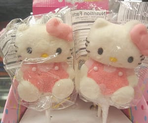 hello kitty, cute, and candy image