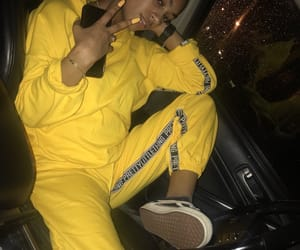 fashion, vans, and yellow image