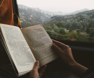 book, travel, and nature image