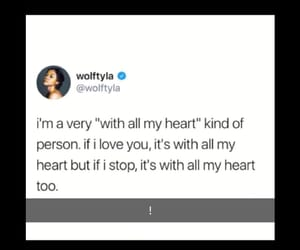 heart, quote, and relatable image