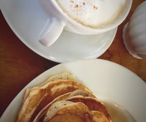 breakfast, fall, and pancakes image