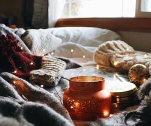 aesthetic, autumn, and candle image