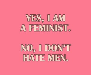 feminist, quotes, and pink image