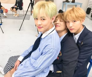 lee jeno, zhong chenle, and nct image