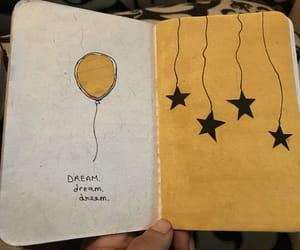 inspiration, journaling, and yellow image