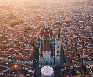 city, italy, and florence image