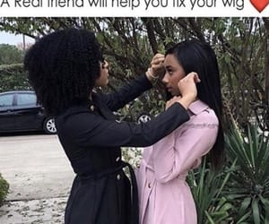 girls, hair, and weave image
