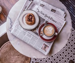 coffee and newspaper image