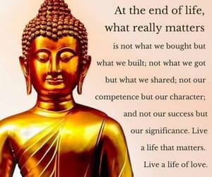 Buddha and quote image