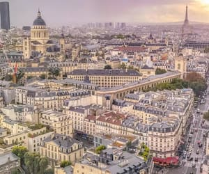 great view, paris, and paname image