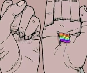 lgbt, hands, and wallpaper image