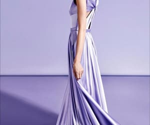 fashion, gowns, and lilac image