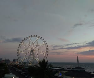 sadness, sunset, and sea image