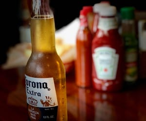 corona extra, beer, and red image