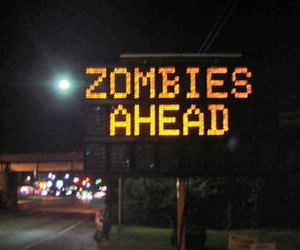 sign and zombies image