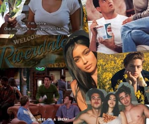 Collage, sunflower, and riverdale image