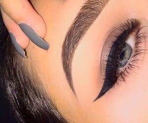 makeup, beauty, and make-up image