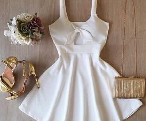 dress, morning, and off white image