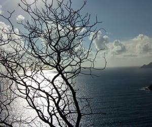 blue sky, landscape, and Corsica image