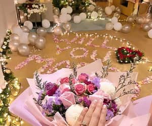 flowers, gifts, and marry me image