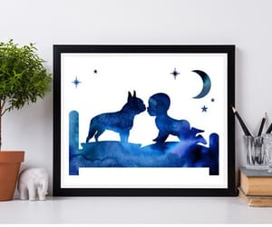 baby, baby room decor, and digital download image