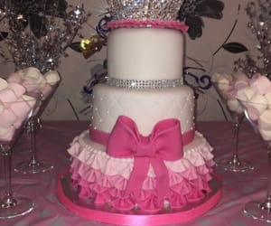 birthday, cake, and girly image