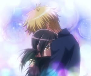 anime, couple, and pastel image