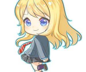 anime, chibi, and shigatsu wa kimi no uso image