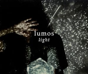 harry potter, lumos, and light image