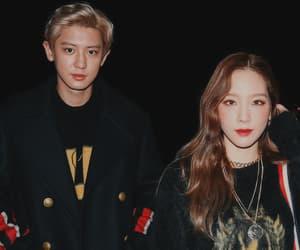 taeyeon and chanyeol image