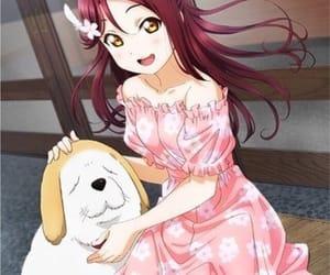 anime, beautiful, and love live sunshine image