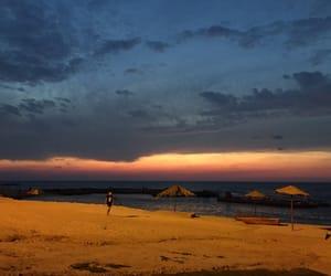 beautiful, cloud, and sunrise image