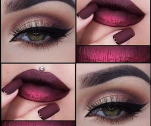 make up and vinho image