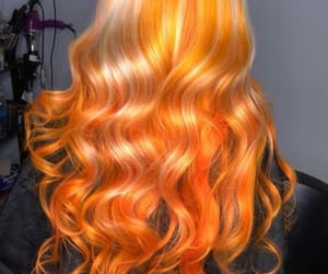 blonde, color, and curls image