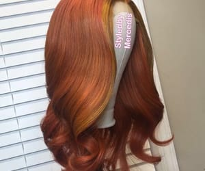 color, curls, and hairstyle image