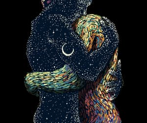 amor, colores, and galaxia image