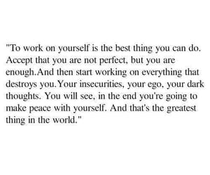 quote and self image
