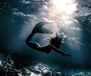 fantasy, mermaid, and ocean image